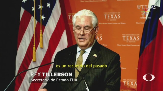 Tillerson Reunirá Viernes EPN Videgaray