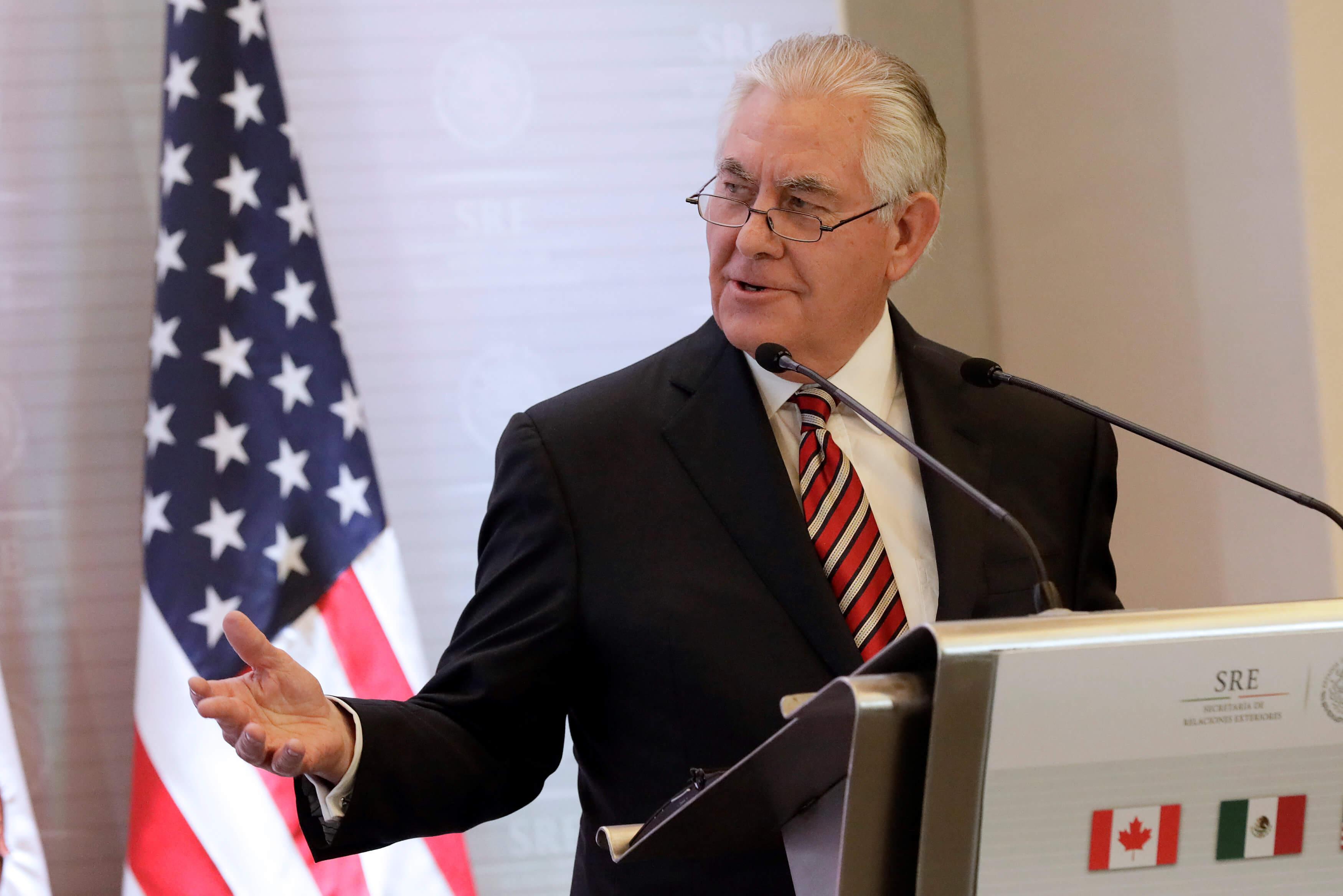 Venezuela condena declaraciones de secretario de Estado de EEUU
