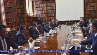 Titular de Segob se reúne con gobernadores del PRI