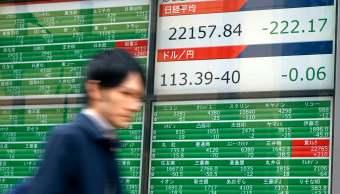Tokio registra mayor baja en cuatro meses; acciones chinas repuntan
