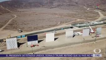Trump planea viajar a la frontera con México en marzo, según TWP