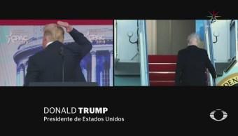 Trump reconoce su calvicie