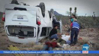 Un muerto en accidente de caravana de 'Marichuy'