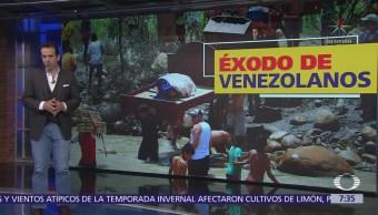 Venezolanos huyen a Colombia y Brasil por comida y medicinas