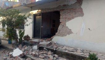 reportan danos 50 viviendas jamiltepec oaxaca