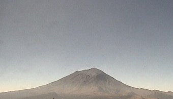 sistema de monitoreo registra 77 exhalaciones del popocatépetl