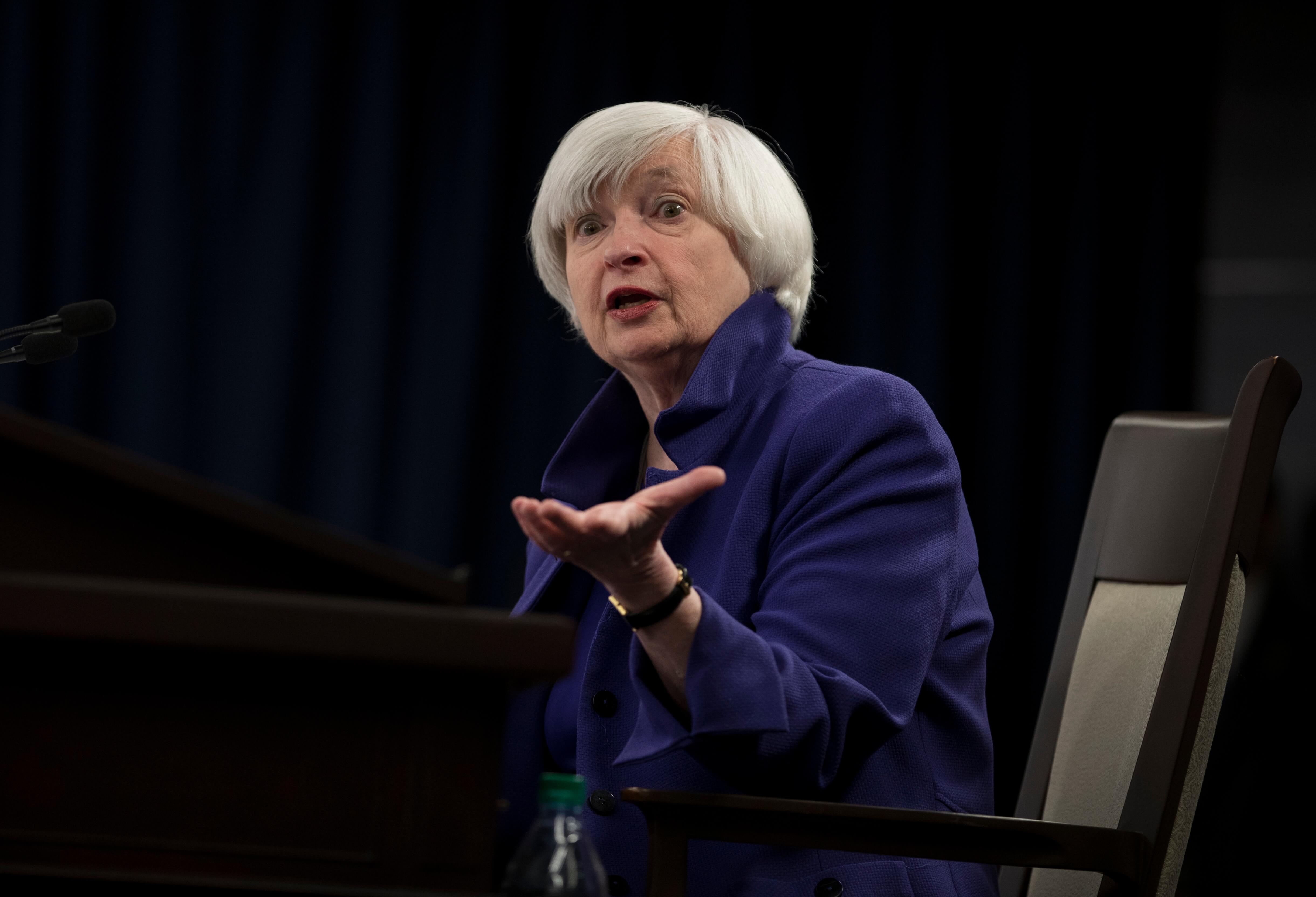 Janet Yellen se encontrará a Ben Bernanke en su nuevo trabajo