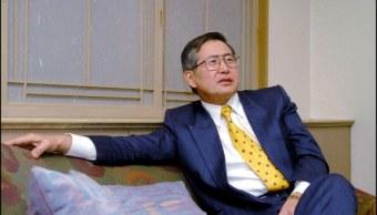 alberto fujimori expresidente de peru sale del hospital