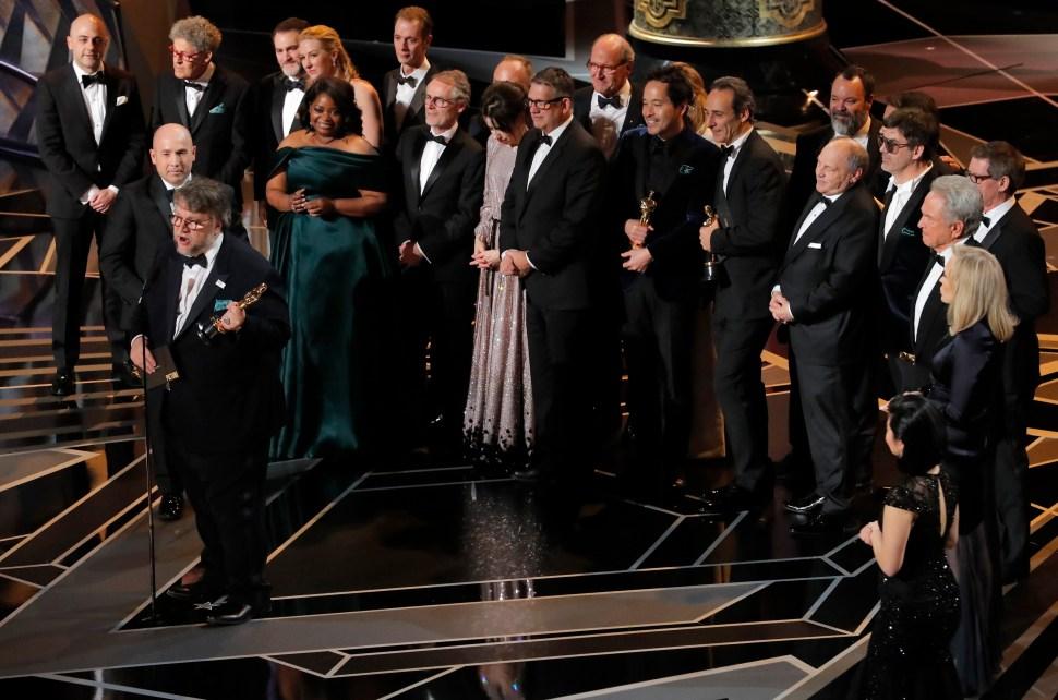 'The Shape of Water' se gana Mejor Película