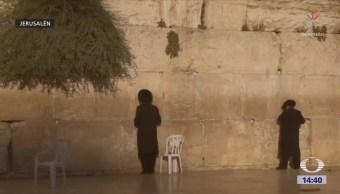 Miles Personas Visitan Muro Lamentos