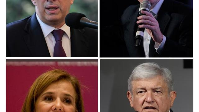 donde iniciaran campana los aspirantes presidenciales