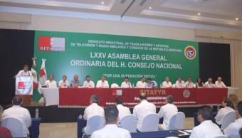 75 Asamblea Nacional del SITATYR en Guadalajara