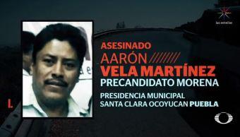Dan el último adiós a precandidato de Morena, asesinado en Puebla