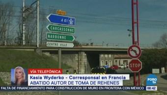 Abaten al autor de la toma de rehenes en Francia