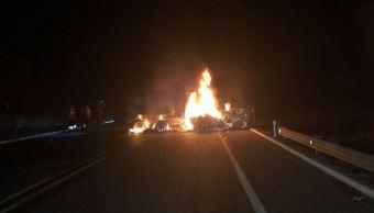 Accidente automovilístico en la autopista Siglo XXI deja cuatro muertos