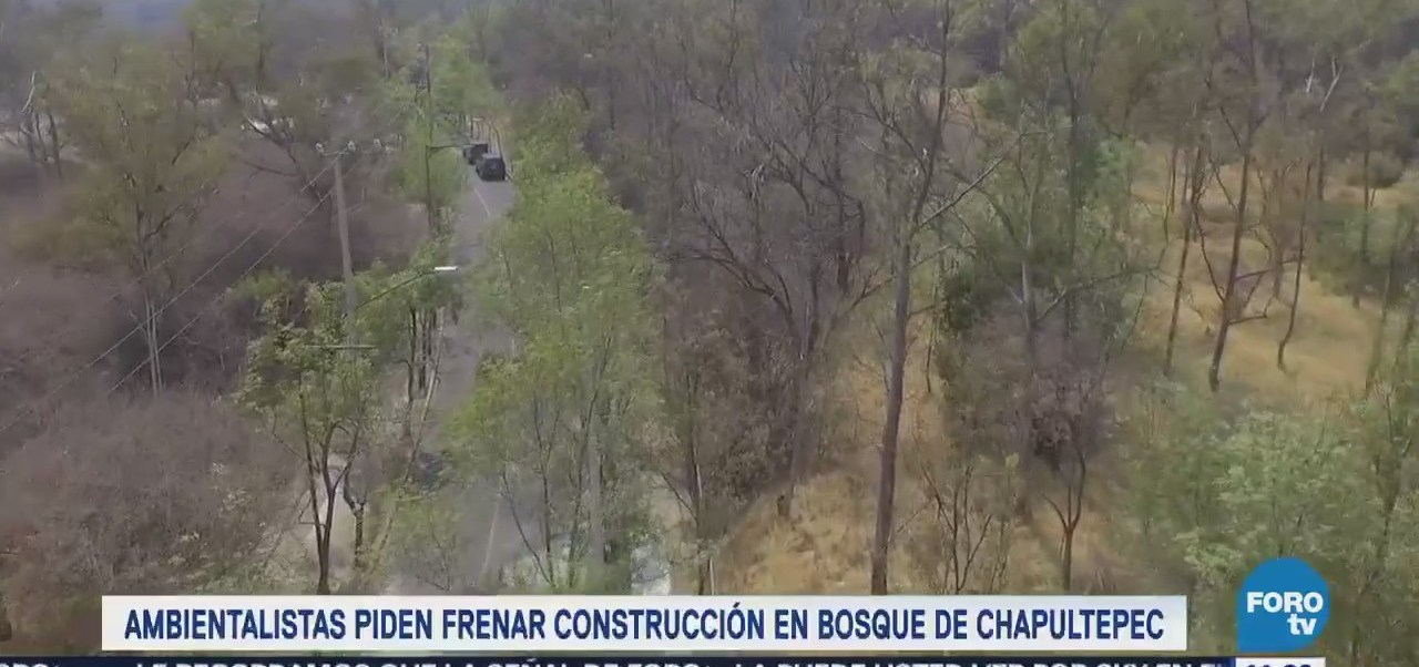 Acecho inmobiliario contra el Bosque de Chapultepec