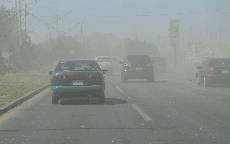 Nuevo frente frío provocará vientos fuertes y tolvaneras en el norte de México
