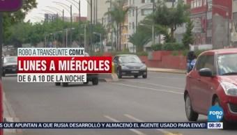 Alerta de robo en Mérida y avenida Chapultepec en la CDMX