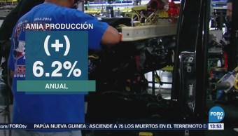 Amia Producción Exportación Autos Aumenta Febrero