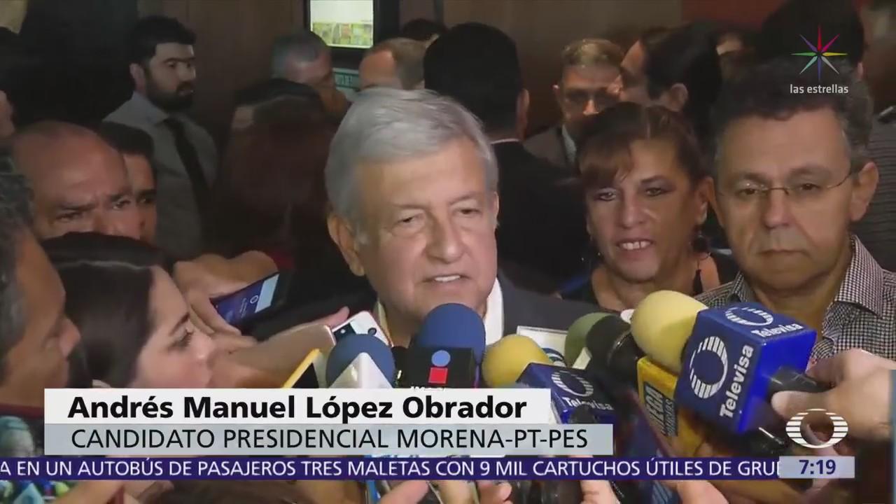 AMLO considera que lo mejor es que EPN se mantenga al margen del proceso electoral