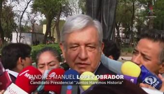 AMLO destinará recursos de campaña a damnificados del 19S