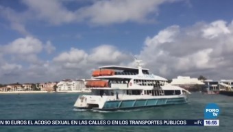 Analizan Causas Explosión Ferry Q Roo
