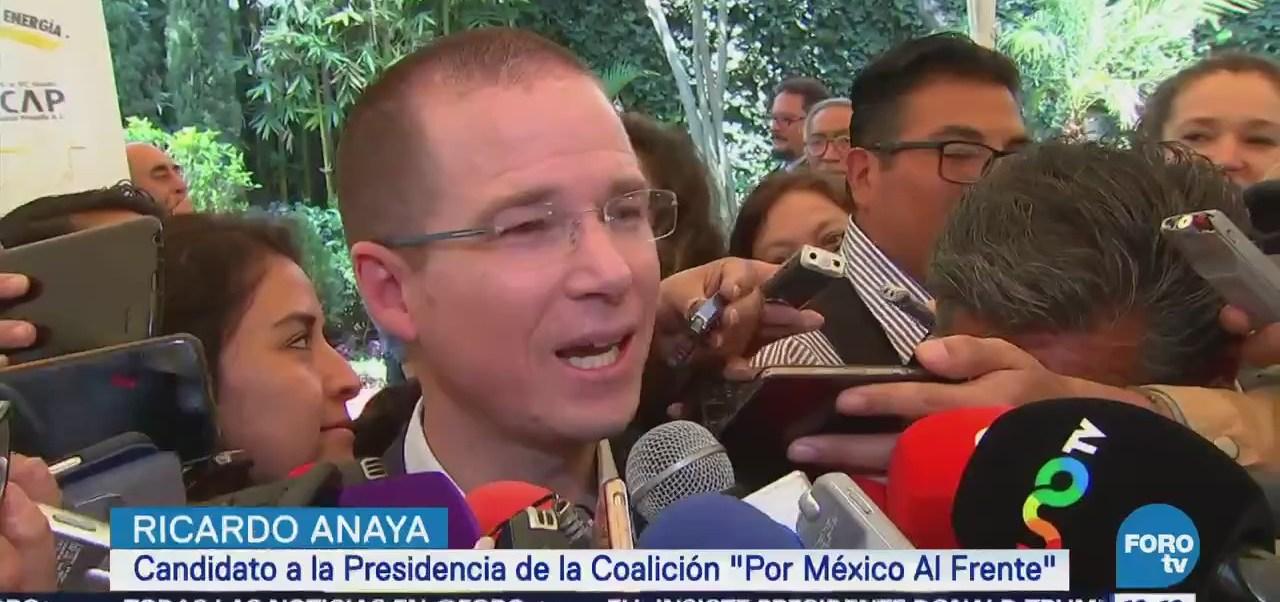 Anaya llama a impedir injerencia del crimen organizado en proceso electoral