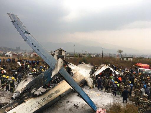 40 muertos y 23 heridos tras accidente aéreo — Nepal
