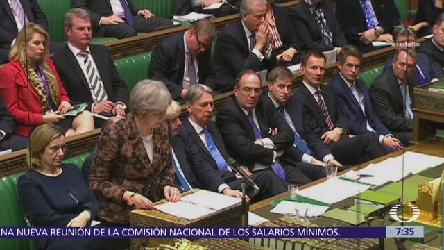 Aprueban británicos respuesta de Theresa May al caso Serguei Skripal