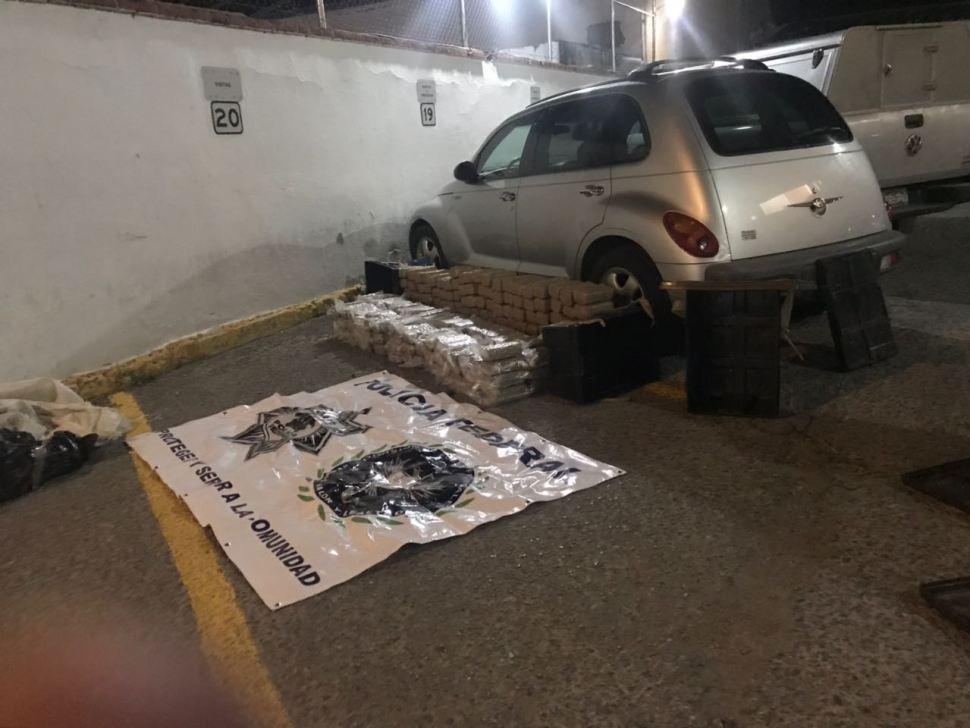 Aseguran vehículo abandonado durante Operativo Titán en Chihuahua