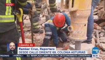 Aseguran zona por fuga de gas en la colonia Asturias