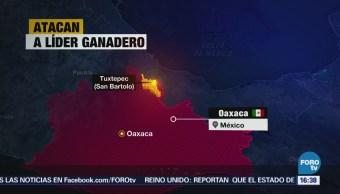Asesinan a líder ganadero en Tuxtepec Oaxaca