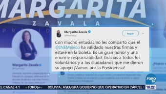 Aspirantes independientes reaccionan a la información del INE