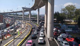 Vacacionistas de la CDMX colapsan salida a Cuernavaca