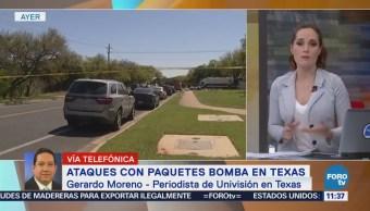 Autoridades de EU investigan ataques con paquetes bomba en Texas