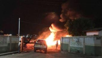 Decenas de vehículos incendiados en el noreste de Brasil