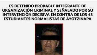 PGR obtiene auto de formal prisión de Erick 'N' ligado al caso Ayotzinapa