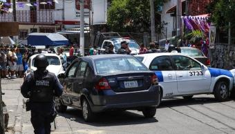 Robo de un vehículo desató balacera durante viacrucis en Acapulco