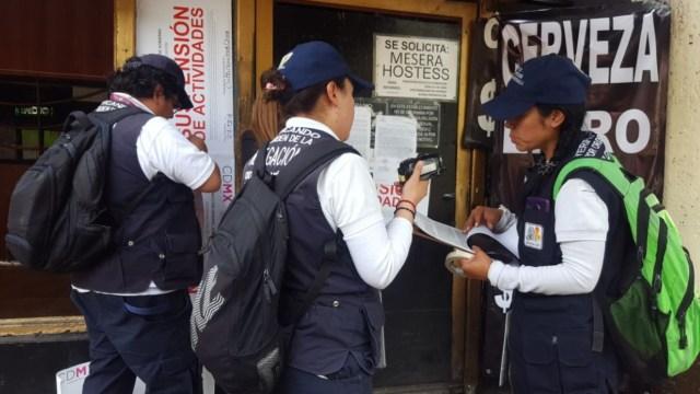 clausuran bares irregulares en la delegacion benito juarez