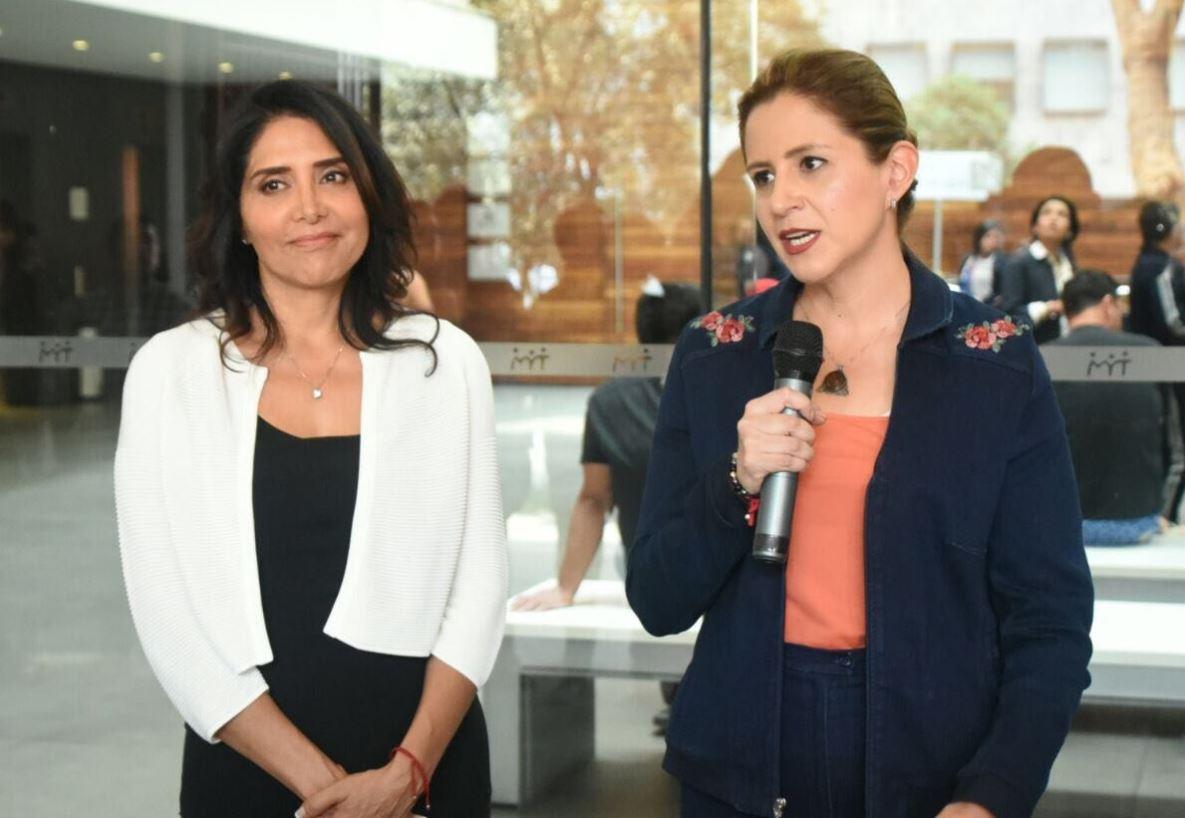 Alejandra Barrales se registra como candidata de