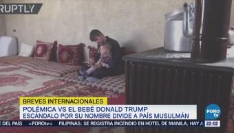 Bebé llamado Donald Trump desata un escándalo en Afganistán