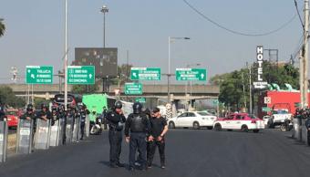 Vecinos de Pantitlán bloquean la calzada Ignacio Zaragoza, CDMX