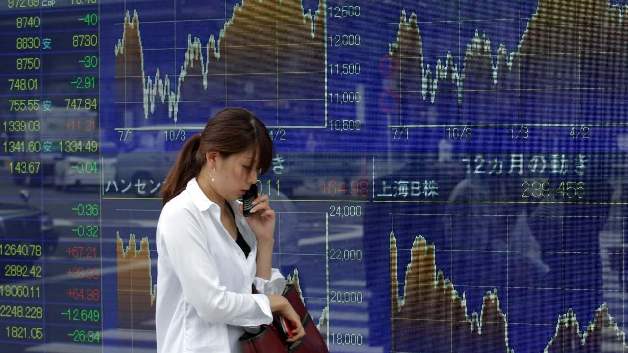 Política interna lleva a la baja la Bolsa de Tokio
