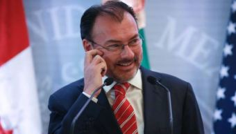 Luis Videgaray realiza gira de trabajo en Dallas, Texas. (Gettyimages)