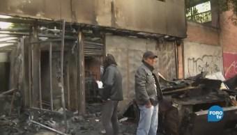 Cuerpos Emergencia Movilizan Controlar Incendio Azcapotzalco