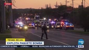 Reportan Nueva Explosión Austin Texas