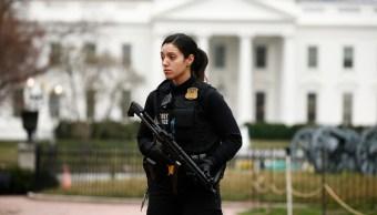 Servicio Secreto investiga a un herido de bala afuera de Casa Blanca