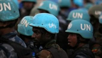 ONU admite fallas entrenamiento muerte Cascos Azules Congo