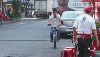 Ciclistas incurren en prácticas imprudentes en CDMX