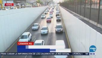 Circuito Interior y Río Consulado presentan tráfico en CDMX